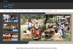 Webseite linedance-friesach.at
